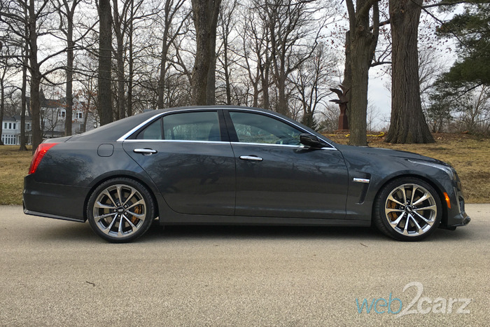 2016 Cadillac CTS-V Review