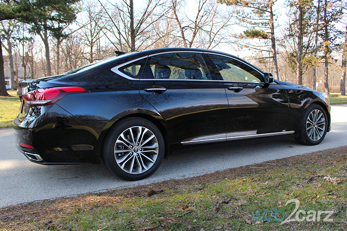 2016 Hyundai Genesis 3.8 RWD Review