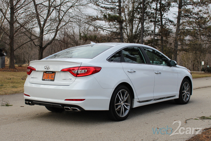 hyundai sonata sport  review webcarz