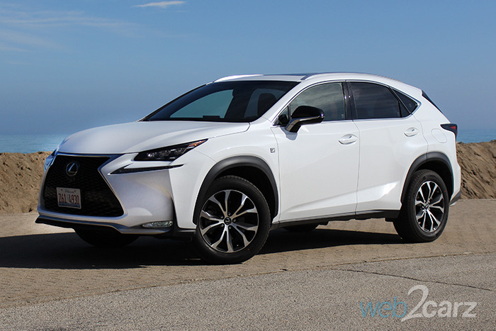 2016 lexus nx 200t f sport review web2carz. Black Bedroom Furniture Sets. Home Design Ideas