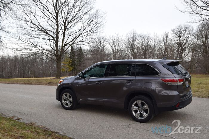 Amazing The 2016 Toyota Highlander Hybrid Review  Web2Carz