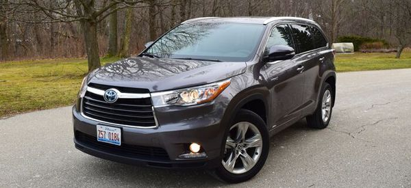 2016 Toyota Highlander Hybrid Review Web2carz