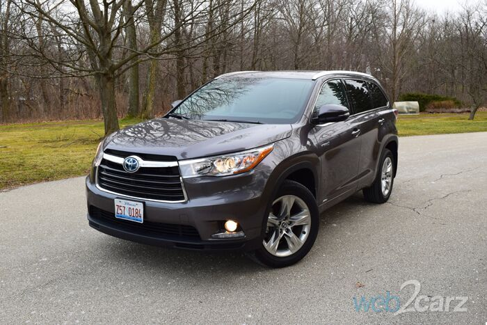2016 Toyota Highlander Hybrid Review