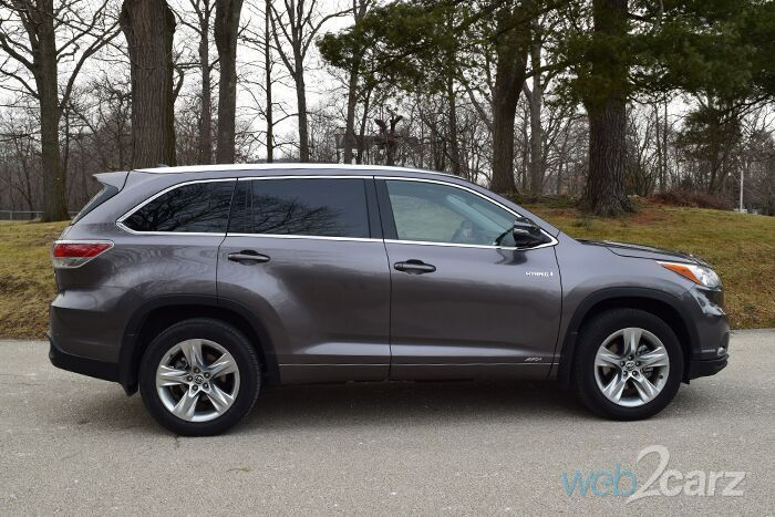 2016 Toyota Highlander Hybrid Review Web2carz