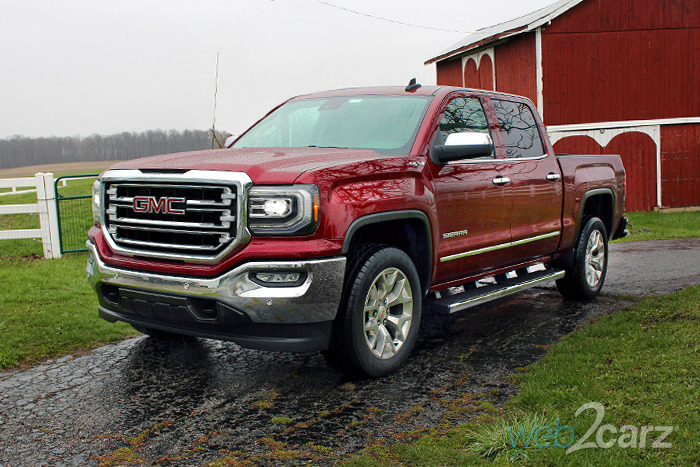 2016 gmc sierra 1500 4wd crew cab slt. Black Bedroom Furniture Sets. Home Design Ideas