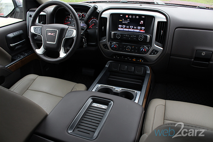 Gmc Sierra Slt Steering Wheel And Dash X