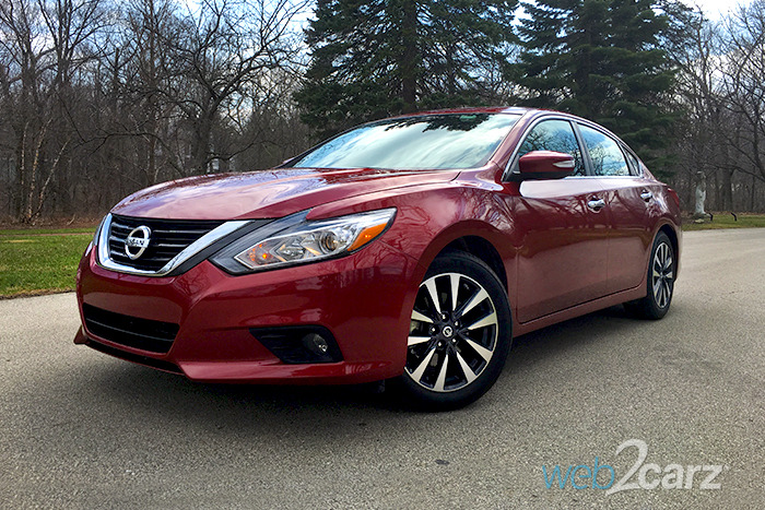 2016 Nissan Altima 2.5 SL Review
