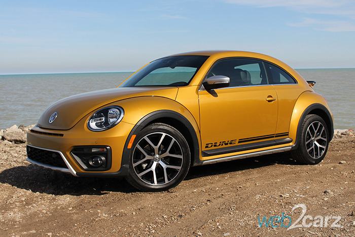 2016 beetle dune coupe review web2carz. Black Bedroom Furniture Sets. Home Design Ideas