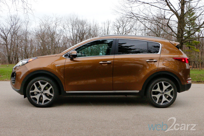 2017 Kia Sportage SX AWD Review