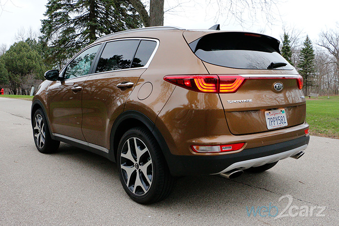 2017 Kia Sportage Sx Awd Review Web2carz