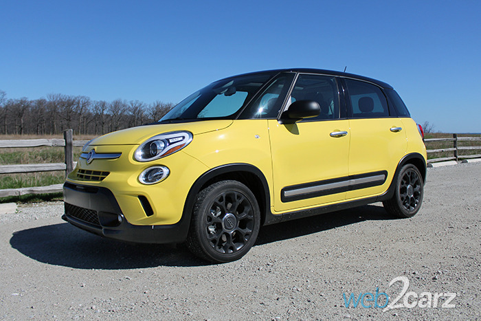 2016 Fiat 500L Trekking Review