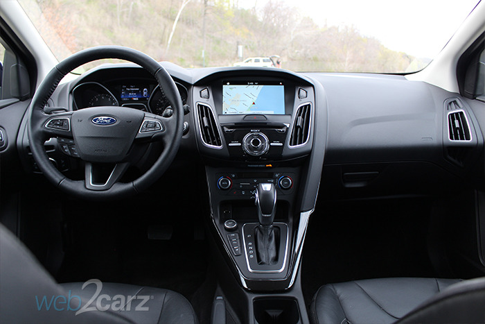 2016 Ford Focus Hatchback Titanium Review Web2carz