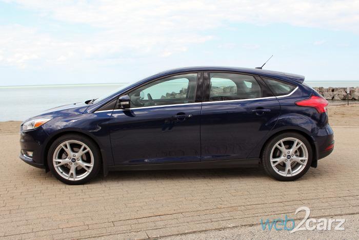 ford focus hatchback titanium review webcarz