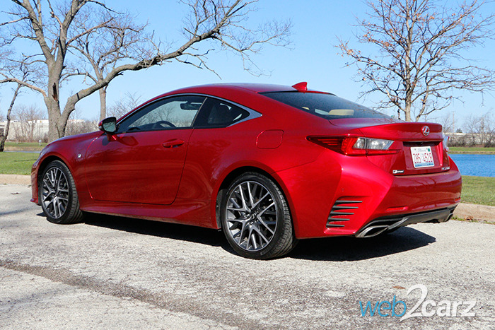 2016 Lexus RC 200t F Sport Review
