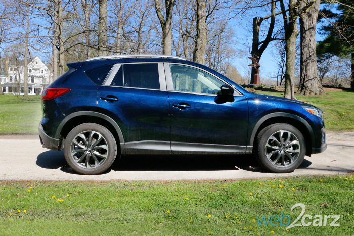 2016 Mazda CX-5 Grand Touring AWD Review | Web2Carz