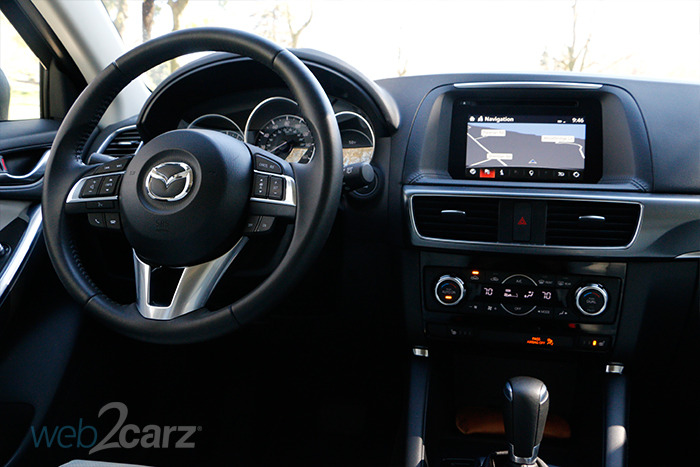 Mazda CX Grand Touring AWD Review WebCarz - Mazda cx 5 dashboard lights