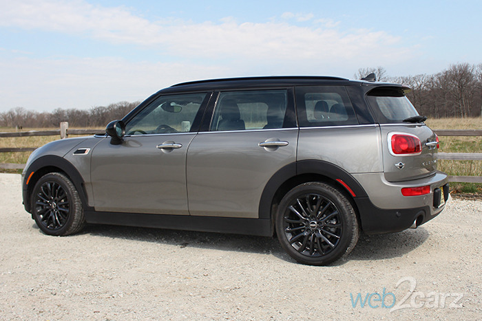 2016 mini cooper clubman review web2carz. Black Bedroom Furniture Sets. Home Design Ideas