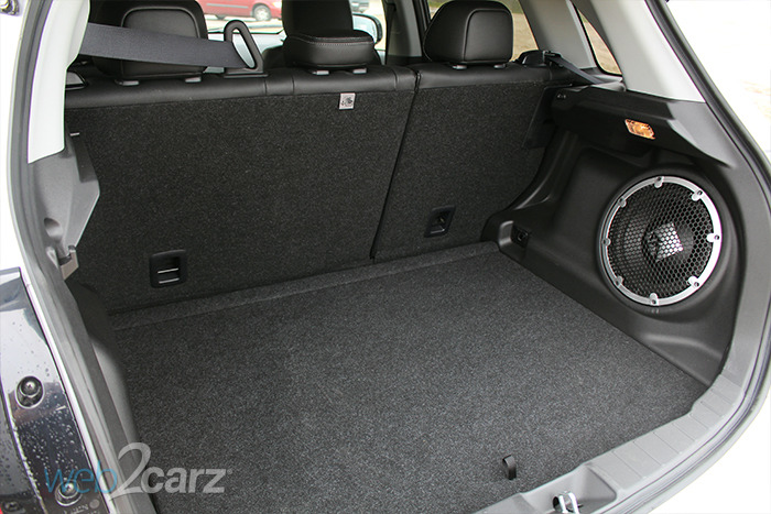 Mitsubishi Outlander Sport Cargo Space X on 2010 Honda Cr V Cargo