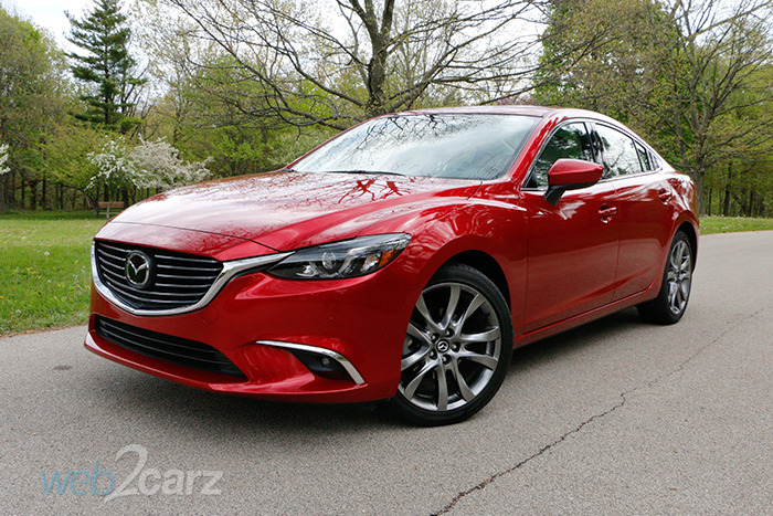 2016 mazda mazda6 i grand touring review web2carz. Black Bedroom Furniture Sets. Home Design Ideas