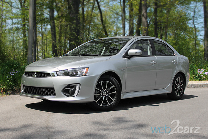 2016 Mitsubishi Lancer 2.4 SEL AWC Review