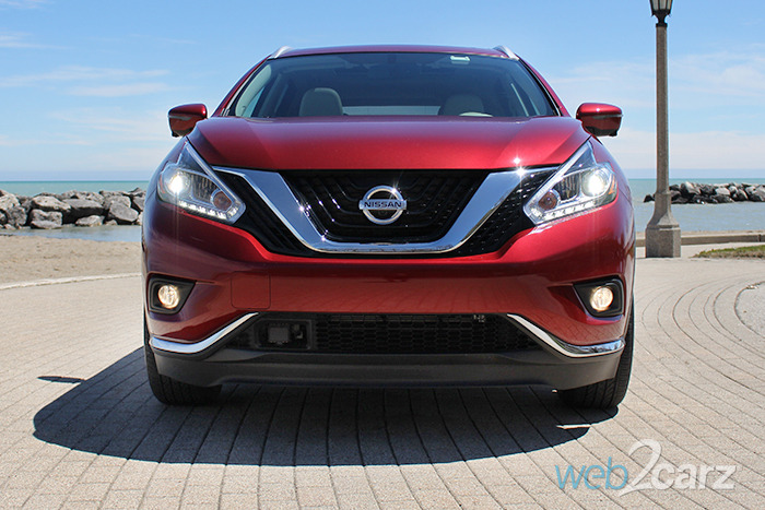Nissan Murano Car Shows Hot