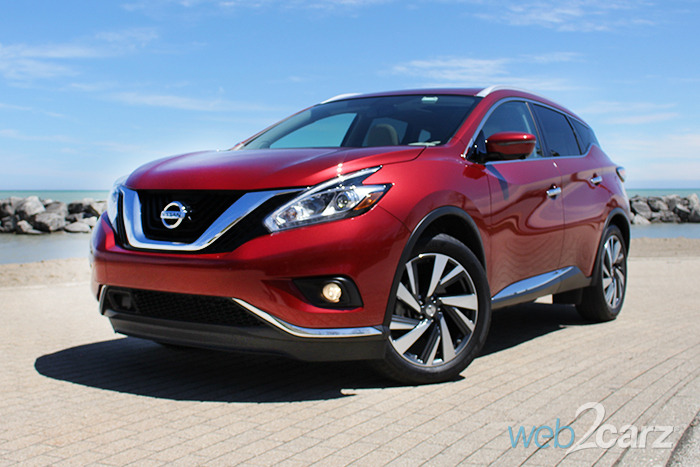 2016 nissan murano platinum awd review web2carz. Black Bedroom Furniture Sets. Home Design Ideas