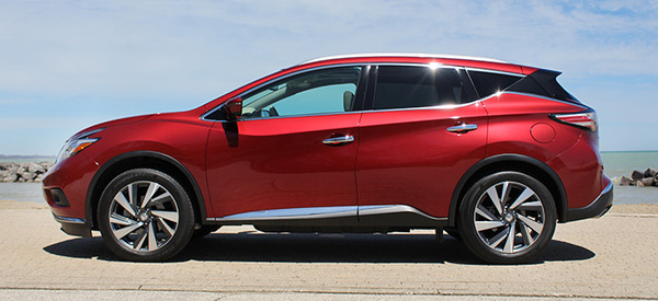 2016 Nissan Murano Platinum Awd Review