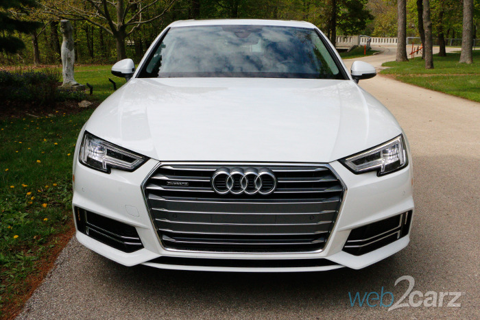 2017 Audi A4 2 0t Quattro Premium Plus Review Web2carz
