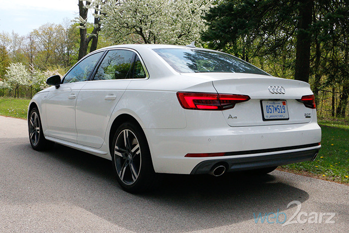 Audi A4 Premium Plus >> 2017 Audi A4 2.0T quattro Premium Plus Review | Web2Carz