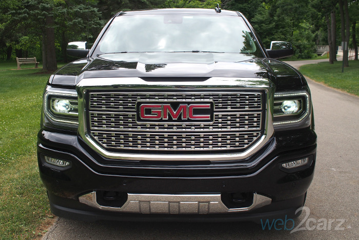 2016 GMC Sierra Denali 1500 Review | Web2Carz