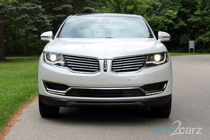2016 lincoln mkx awd reserve review web2carz. Black Bedroom Furniture Sets. Home Design Ideas