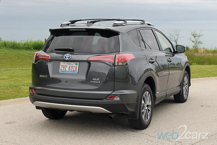 Rav4 Hybrid Reviews >> 2016 Toyota RAV4 XLE Hybrid Review | Web2Carz