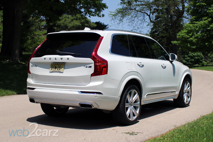 2016 volvo xc90 t8 twin engine plug in hybrid review web2carz. Black Bedroom Furniture Sets. Home Design Ideas