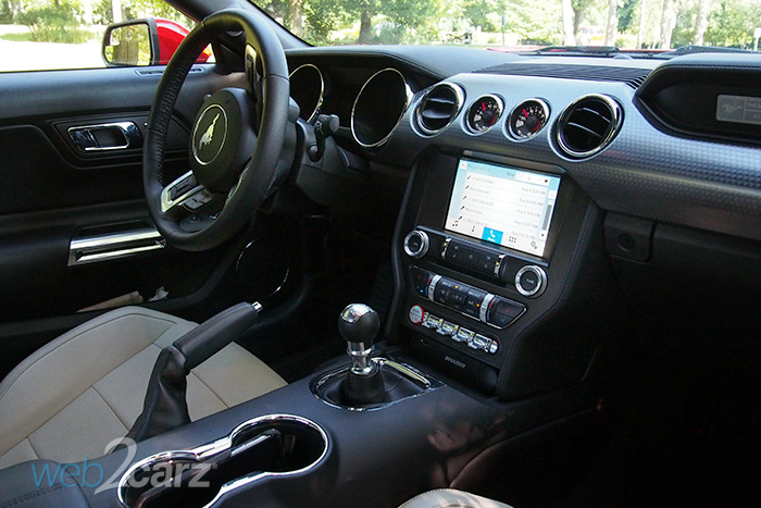 2016 Ford Mustang 2 3l Ecoboost Premium Review Web2carz