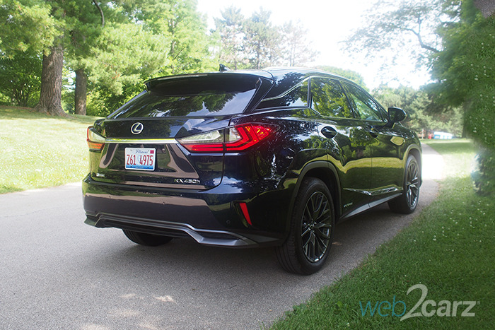 2016 Lexus RX 450h F Sport Review