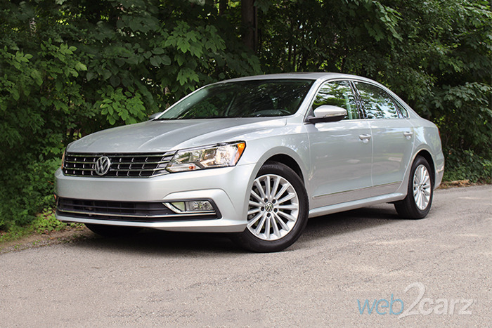 2016 Volkswagen Passat SE Review