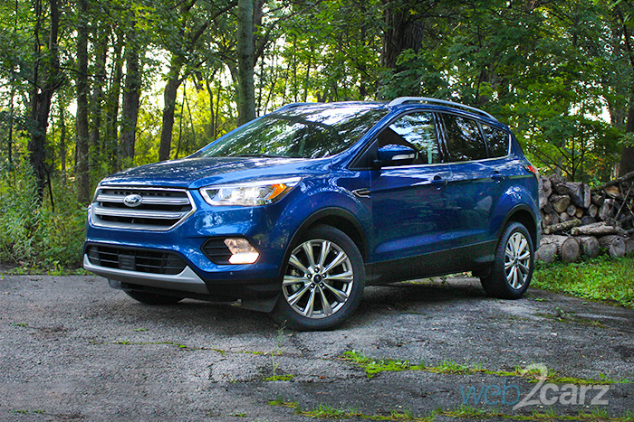 2017 Ford Escape Anium Review The Gets A New Face And Tech Features