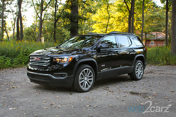 2017 Gmc Acadia Awd All Terrain Review