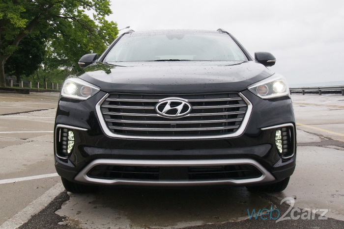 2017 Hyundai Santa Fe Limited Ultimate AWD Review | Web2Carz