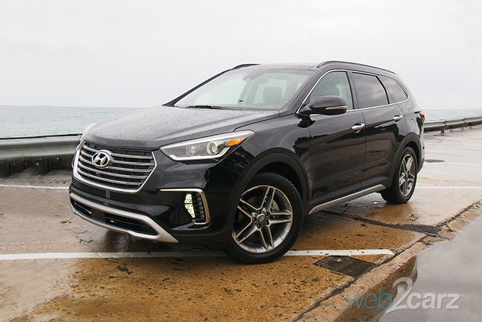 2017 Hyundai Santa Fe Limited Ultimate Awd Review Web2carz