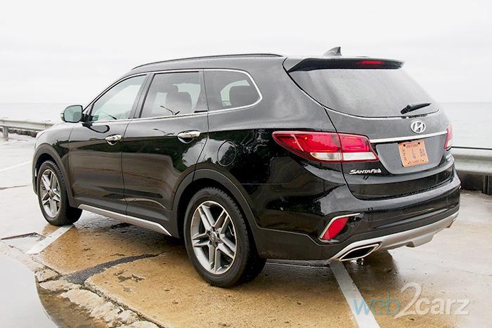 2017 Hyundai Santa Fe Limited Ultimate Awd Review Web2carz