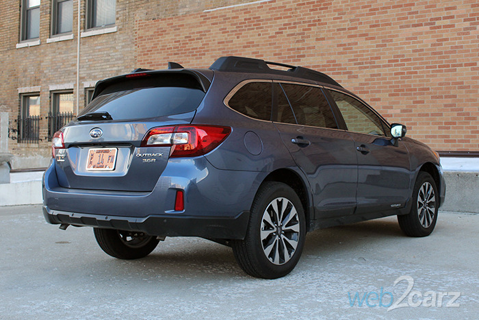 2017 subaru outback review web2carz. Black Bedroom Furniture Sets. Home Design Ideas