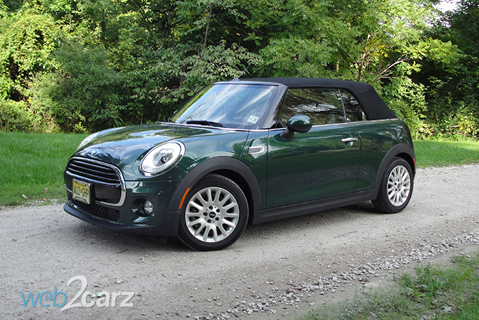 2016 Mini Cooper Convertible Review