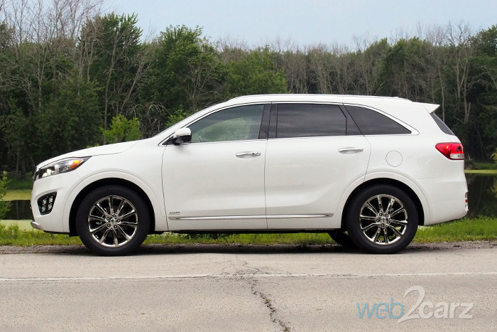 2017 Kia Sorento SX Limited V6 Review