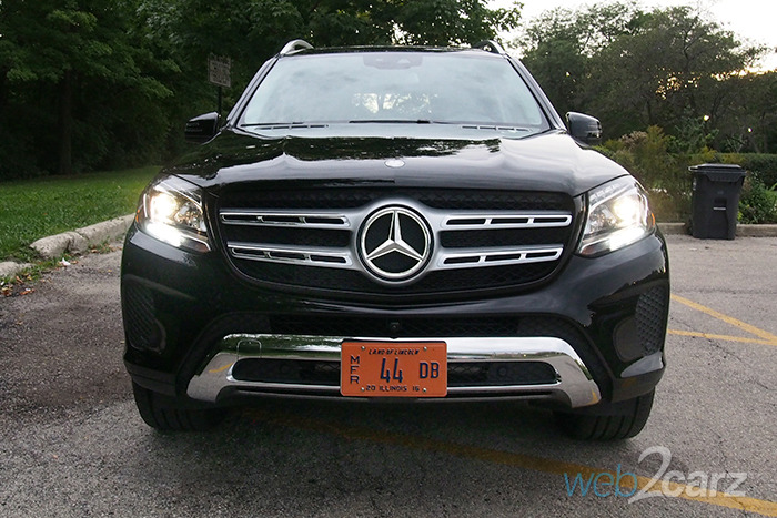 2017 mercedes benz gls450 4matic review web2carz for 2017 mercedes benz gls450