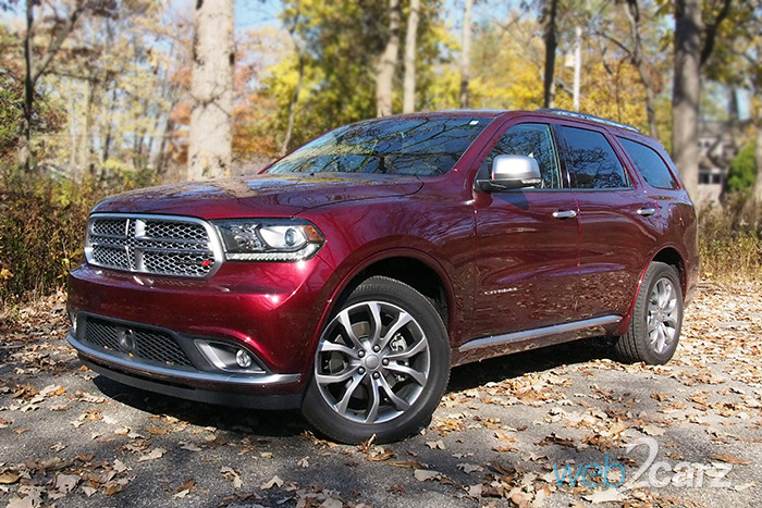 2016 Dodge Durango Citadel Anodized Platinum AWD Review