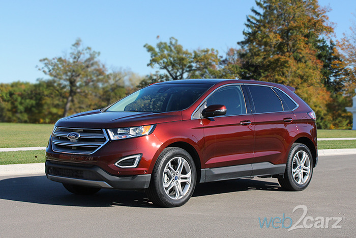 2016 Ford Edge Titanium FWD Review