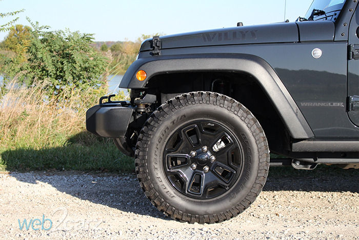 2016 jeep wrangler willys wheeler review