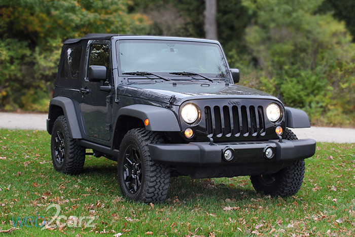2016 Jeep Wrangler Willys Wheeler Review