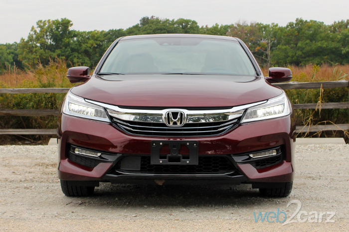 2017 Honda Accord Touring Hybrid Review Web2carz